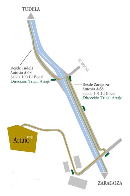 Mapa Artajo